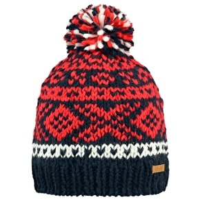 Barts Log Cabin Kids Beanie - Navy