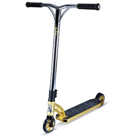 MGP VX7 Team Stunt Scooter - Gold/Chrome