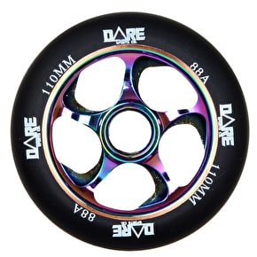 Dare Swift Scooter Wheel - Black/Neochrome 110mm