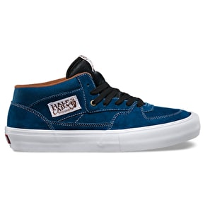 Vans Half Cab Pro Shoes - Poseidon/White