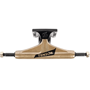Tensor Alum Switch Flick Skateboard Trucks - Gold/Black
