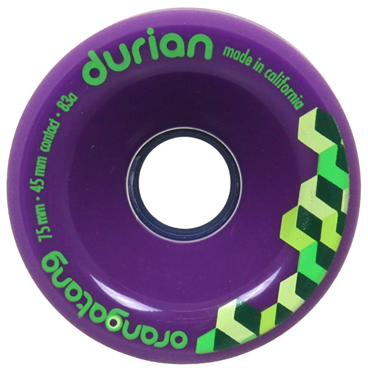 Orangatang Durian 75mm Longboard Wheels (Pack of 4)