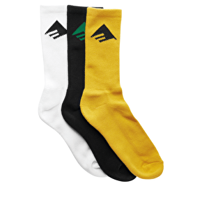 Emerica Pure Socks - 3 Pack