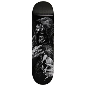 Zero Faces Of Death R7 Skateboard Deck - Burman 8.375
