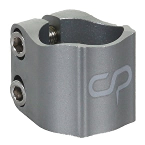 Crisp 2016 Oversized Double Collar Clamp - Anodized Titanium