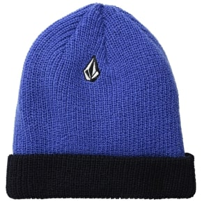 Volcom Full Stone 2 Way Beanie - Blue/Black