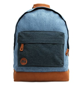 Mi-Pac Denim Pocket Backpack - Stonewash/Indigo