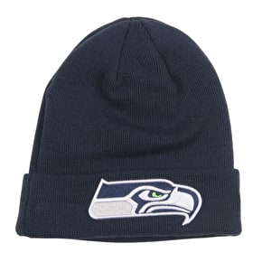 New Era NFL Essential Cuff Beanie - Seattle Seahawks