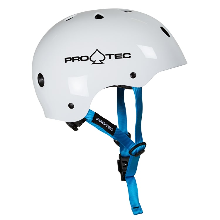 Pro-Tec Classic Fit Junior Helmet - Gloss White