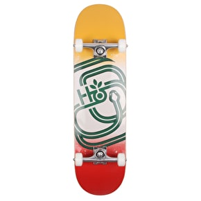 Habitat Serpent Custom Skateboard - Yelow/Orange - 8.375