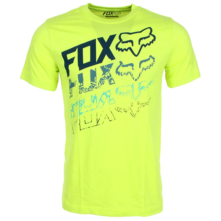 Fox Hunter Youth T-Shirt - Fuorescent Yellow