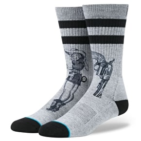 Stance Bush League Socks - Grey