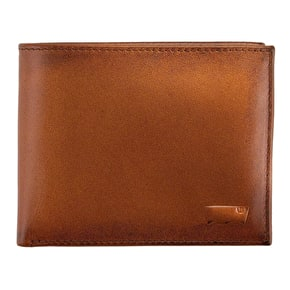 Levi's Inlay Bifold Clean Finish Wallet - Brown