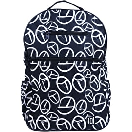 FUL Accra Backpack - Peace Sign Print