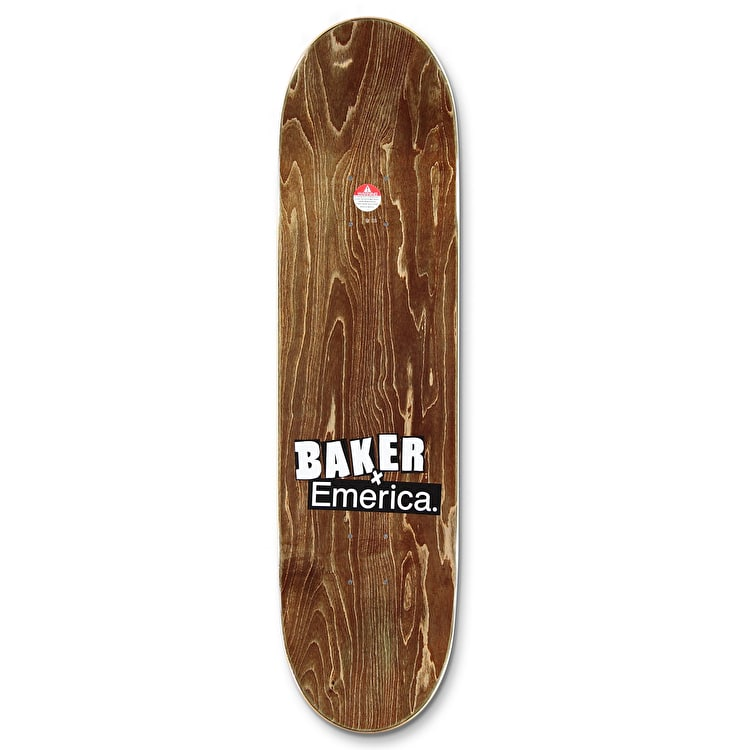Baker x Emerica Made Herman Skateboard Deck - 8.25""