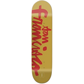 Chocolate Hometown Chunk Skateboard Deck - Brenes 8.25