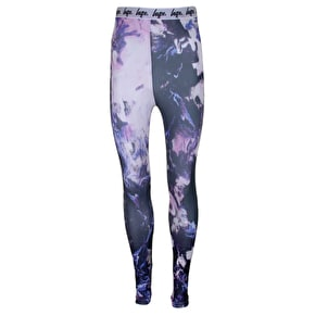 Hype Womens Leggings - Pink Smudge