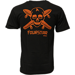Fourstar Dressen Pocket T-Shirt - Black