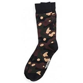 Richer Poorer Trooper Socks - Green
