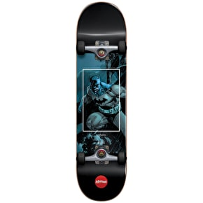 Almost Batman Fight Club Youth Complete Skateboard - Blue 7.25