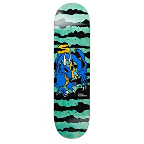 Polar Dragon Sunset Skateboard Deck - Rozenberg 8.25