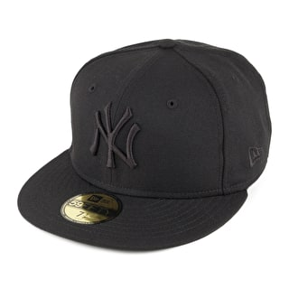 New Era MLB New York Yankees Cap - Black On Black