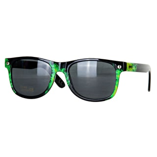 Glassy Sunhaters Reyes Sunglasses - Green Tie Dye