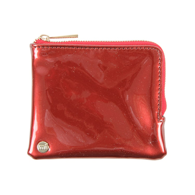 Mi-Pac Patent Coin Holder - Red