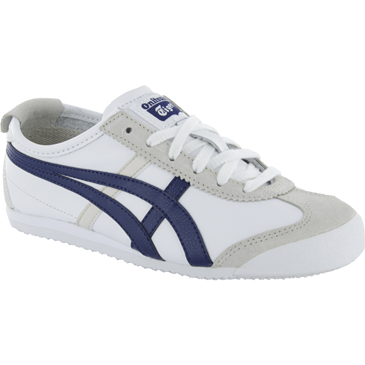 Onitsuka Tiger Mexico 66 Kids Shoes - White/Navy