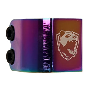 Panda Double Clamp - Neochrome