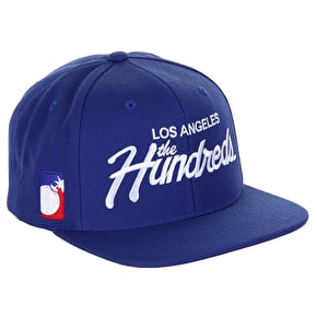 The Hundreds Snapback Cap - Blue