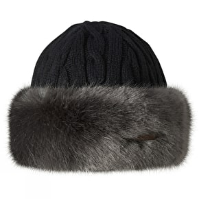 Barts Fur Cable Bandhat - Grey