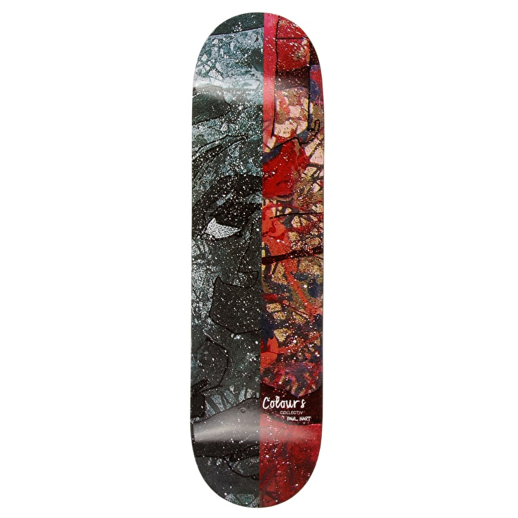 Colours Collectiv Paul Hart Ali Dual Tone Skateboard Deck 8.2""