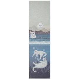 RIPNDIP Unda Da Sea Skateboard Grip Tape - Blue