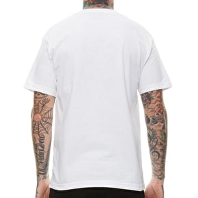 Rebel8 Drink Like A Fish T-Shirt - White