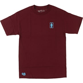 Girl 93 OG T-Shirt - Maroon