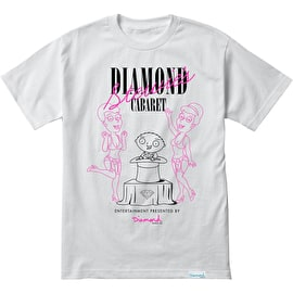 Diamond Supply Co X Family Guy Stewie's Cabaret T Shirt - White