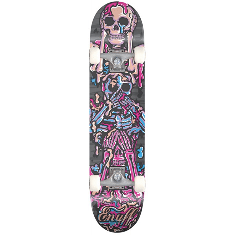 Enuff Skeleton Skateboard - Purple
