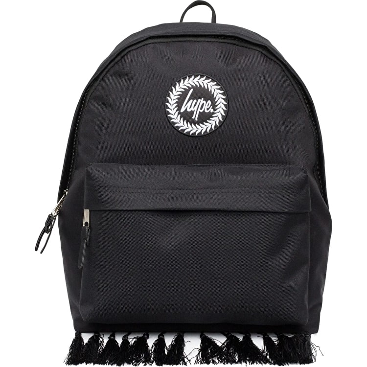 Hype Morrocan Tassle Backpack - Black