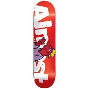 Almost Monster HYB Skateboard Deck - Red 8