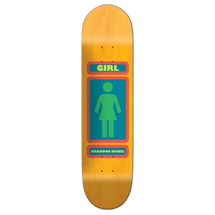 Girl 93 Til Skateboard Deck - Biebel 7.875""