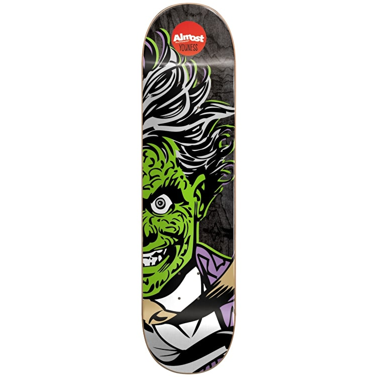"""Almost Skateboard Deck - Two-Face Split Face R7 Youness 8"""""""
