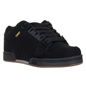 DVS Celcius Skate Shoes - Black Leather