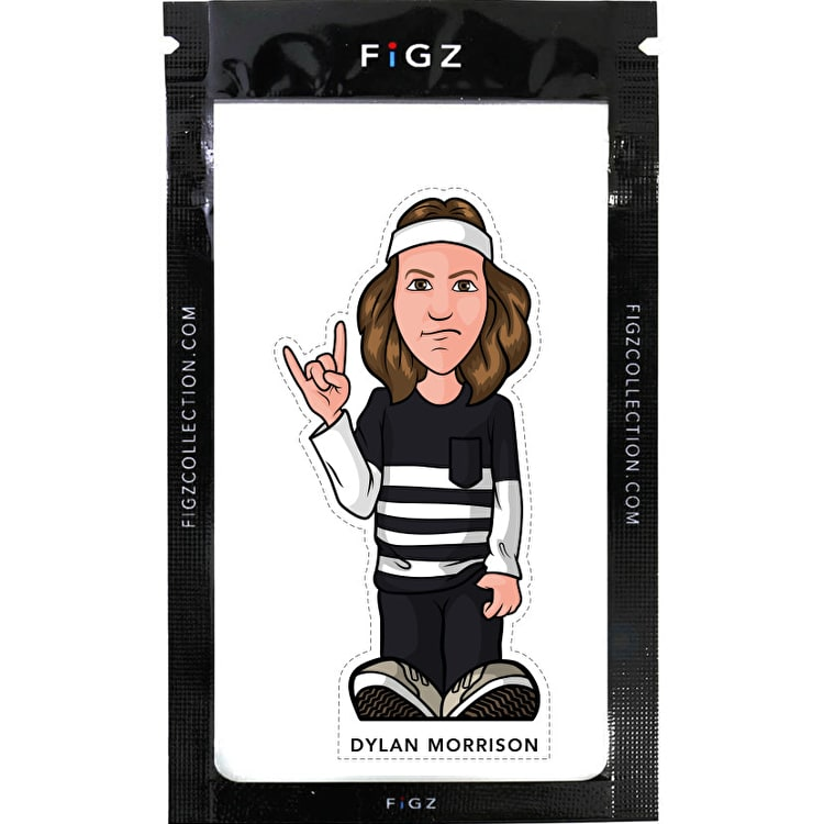 FIGZ Collection Dylan Morrison Rider Sticker