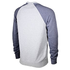Fox Crewz Fleece - Heather Graphite