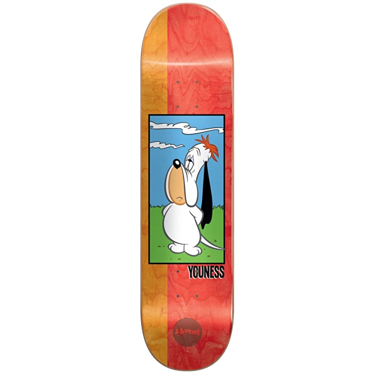 Almost Droopy R7 Skateboard Deck - Youness 8""