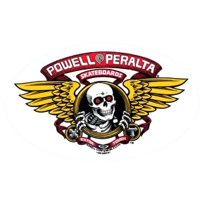 Powell Peralta Winged Ripper Skateboard Sticker - M