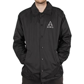 Huf Essentials TT Coaches Jacket - Black