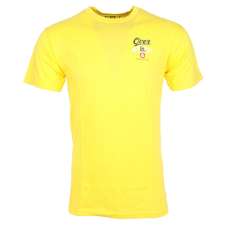 Expedition One Over It T-Shirt - Yellow