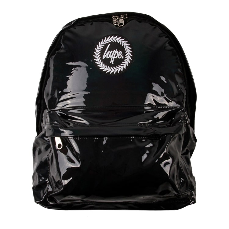 Hype Holographic Backpack - Black